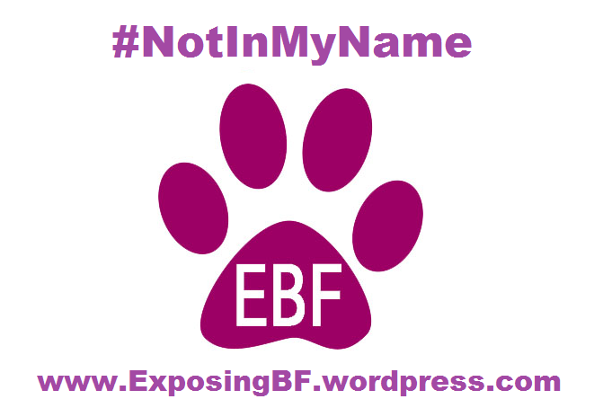 EBF Not in my name transfer
